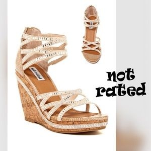 """🆕NOT RATED Baltic Sea """"Bling"""" Wedge"""